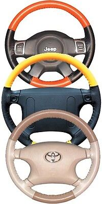 Volvo Perforated Custom 1 or 2 Color Leather Steering Wheel Cover Wheelskins