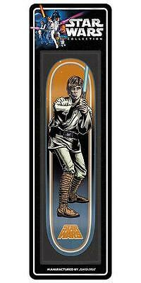 New Santa Cruz Star Wars Luke Skywalker Collectible Skateboard Deck 31.7inx7.8in