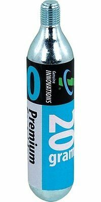 (Genuine Innovations 20g CO2 Road Bike Pump Refill Cylinder Replacement Cartridge)