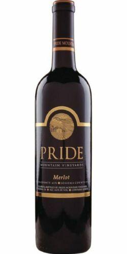 Pride Mountain Vineyards Merlot 2017, Set of 6 Bottles