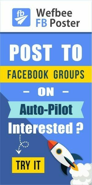 Facebook groups and pages autoposter
