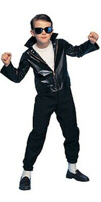Boys Child Disco 50s 60s Greaser Jacket Costume Outfit - Boys Greaser Jacket