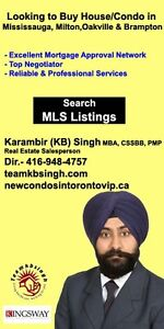 Looking for homes for sale -Mississauga,Brampton,Oakville,Milton