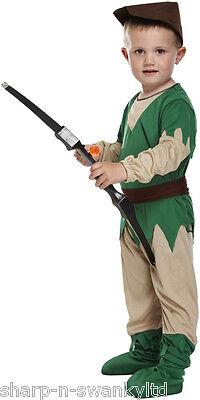 Mädchen Jungen Kinder Kinder Robin Hood Büchertag Kostüm - Robin Mädchen Kinder Kostüm