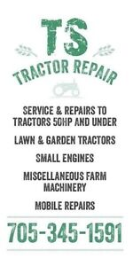 Small engine repair service