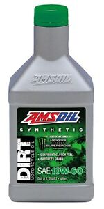 AMSOIL 10W-60 Synthetic Dirt Bike Oil at ORPS PARTS