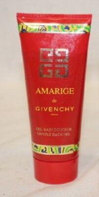 (NEW AMARIGE DE GIVENCHY PERFUMED GENTLE BATH GEL FOR WOMEN 3.3 OZ / 100 ML RARE)