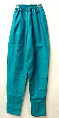 Scrub Pants Teal Green Small PRN Uniforms 1067 Elastic Waist Uniform Bottom New ()