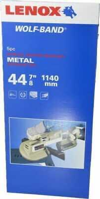 Lenox 3 8-78 X 12 X 0.02 18 Tpi Bi-metal Portable Band Saw Blade Toothe...