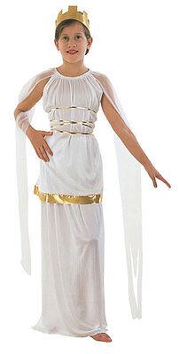Mädchen Weiß Griechische Göttin Athena Ancient Greece Kostüm Toga (Athena Mädchen Kostüme)