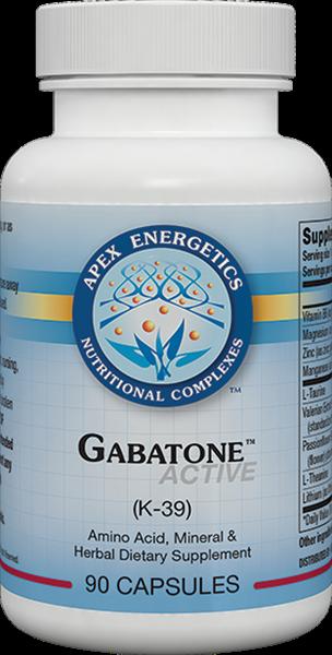 Apex Energetics Gabatone Active k-39