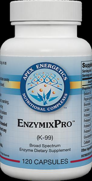 Apex Energetics - EnzymixPro (K-99) 120 Capsules