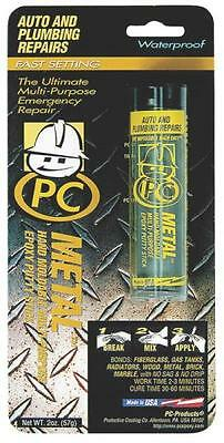 New 025550 Pc Metal 2 Oz Gray Waterproof Steel Epoxy Paste Heavy Duty 6779565