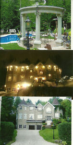 LUXURY HOME FOR SALE MONTREAL, AREA,WOW! 514-730-4511