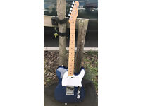 FENDER TELECASTER MADE IN MEXICO 2007 blue