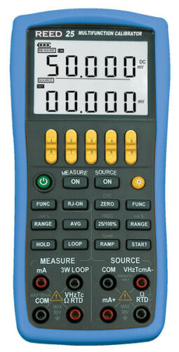 REED VC25: Multifunction Process Calibrator