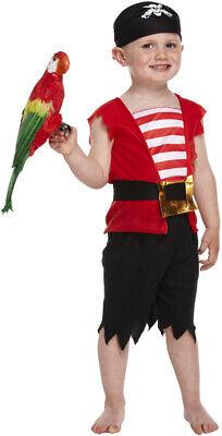 Kleinkind Piraten Kostüm - 3 Jahre - Jungen Kinder Krippenspiel Buchwoche Outfit