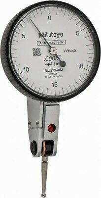 Mitutoyo 513-101 Dial Test Indicator 0.14mm Range 0.001mm Graduation
