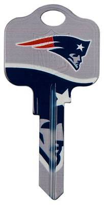 New England Patriots Gift Ideas (Great Gift Idea! NFL NEW ENGLAND PATRIOTS SCHLAGE SC1 UNCUT KEY)