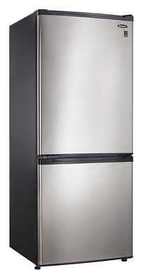 Danby Refrigerator, Bottom Freezer, 9.2 cu.ft., DFF092C1BSLDB