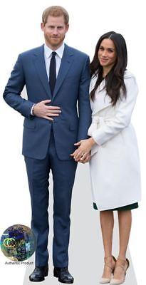Prince Harry And Meghan Markle Cardboard Cutout  Lifesize Or Mini Size