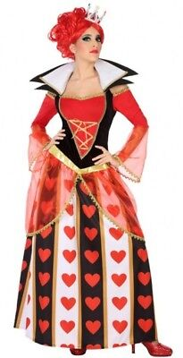 Cheap Alice Costume (Costume Woman QUEEN heart XL 44 Drawing Cartoon Alice film NEW)