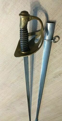 SABER/SWORD OF CAVALRY OFFICER model 1923 with scabbard