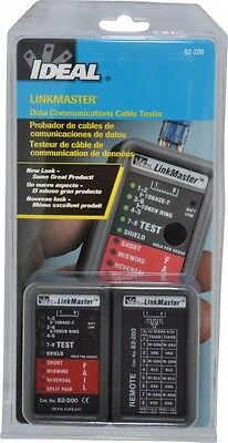 Ideal STP and UTP Cable Tester Screenless, 10BaseT, T568A and T568B Connectors