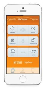 My-Start demarreur a distance avec iPhone ou android