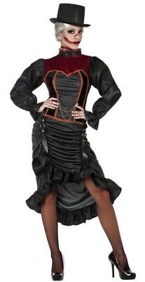 Damen Sexy Viktorianisch Steampunk Vampir Halloween Kostüm Kleid - Sexy Vampir Outfits