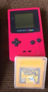 Gameboy color with Pokémon yellow St. John's Newfoundland image 1