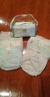 8 couches en coton -Grandeur 10-20 Kg -22-45 Livres-Diapers
