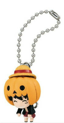 B135 BANDAI ONE PIECE HALLOWEEN SPECIAL VER. KEYCHAIN GASHAPON----LUFFY - One Piece Halloween Special