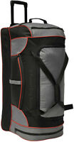 ROLLING LUGGAGE DUFFLE BAG - BRAND NEW - LIGHT WEIGHT & RUGGED
