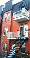 5½  close to parc Lafontaine available 1 October (ville marie)