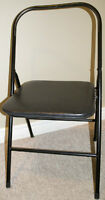 Photography Prop-Black Folding Chair
