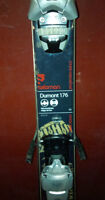 2010 Salomon Dumont Park Skis w/ Salomon Binding