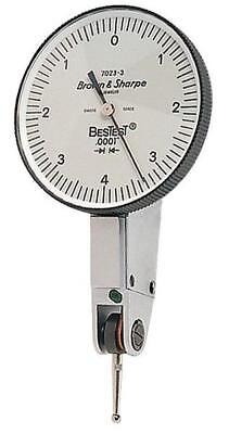 Brown Sharpe 599-7023-3 Bestest Dial Test Indicator .008 Range .0001