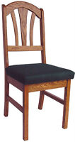 Six Oak Dining Room Chairs