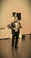 Saxophone player available for special events