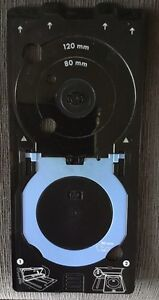 HP Printer Tray for printing labels directly onto to CD/DVD