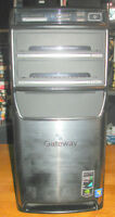 GATEWAY AMD DUAL CORE 3.00GHZ REFURBISHED COMPUTER WINDOWS 7