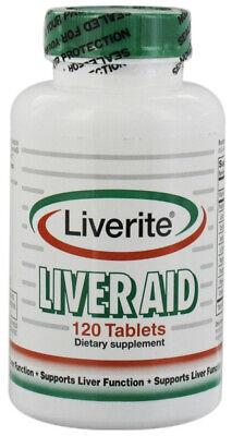 Liverite Liveraid - 120 Tablets pack of -1