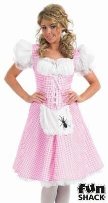 Muffet Little Miss Womens Costume Ladies Fancy Dress Outfit Fairytale Story - Little Miss Muffet Kostüm