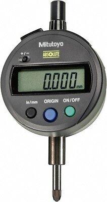 Mitutoyo 0 To 12.7mm Range 0.01mm Graduation Electronic Drop Indicator Flat...