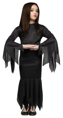 Addams Family Girl's Madam Morticia Halloween Costume Child 8-10 Medium #R1 - Addams Family Baby Halloween Costumes