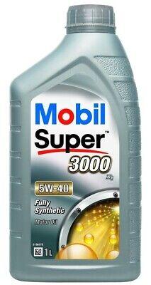 OLIO MOTORE MOBIL 5W40 SUPER 3000 X1 SINTETICO 1 LITRO VW 502 00 / 505 00