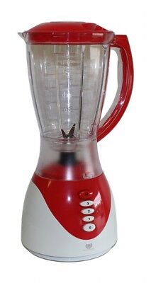 Standmixer Universalmixer Smoothie Mixer Blender Zerkleiner Ice Crusher 1,5L Neu (Roter Smoothie Mixer)