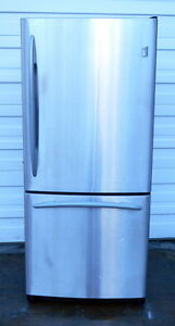 GE Profile Stainless Steel Fridge - Excellent Condition
