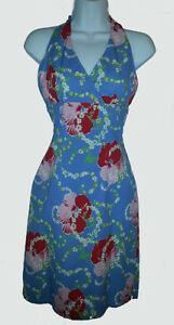 TOMMY HILFIGER Tropical Print Stretch Halter Dress - XS -NEW Gatineau Ottawa / Gatineau Area image 1